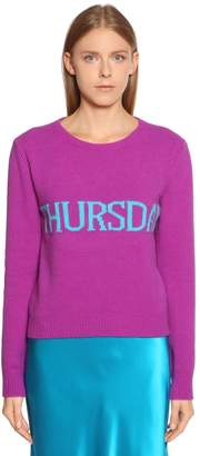 Alberta Ferretti Thursday Wool & Cashmere Sweater