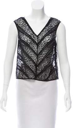 Tocca Lace Sleeveless Top