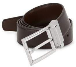 Bally Astor Adjustable and Reversible Leather Belt