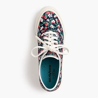 J.Crew SeaVees® for Legend sneakers in Liberty poppy floral