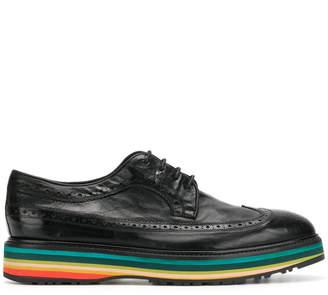 Paul Smith rainbow heel brogues