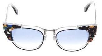 Fendi Tinted Cat-Eye Sunglasses