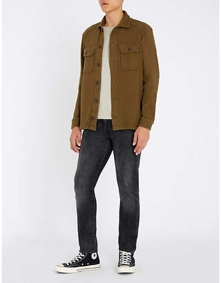 Polo Ralph Lauren Military-inspired cotton cardigan