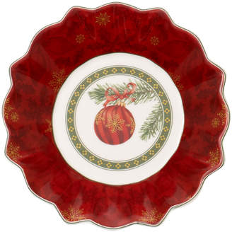 Villeroy & Boch Toy's Fantasy Small Bowl: Christmas Ornament