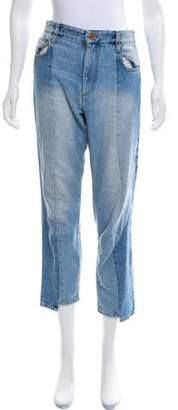 Isabel Marant Étoile Mid-Rise Cropped Jeans
