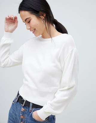 Asos (エイソス) - ASOS DESIGN sweater in off shoulder shape in fine knit