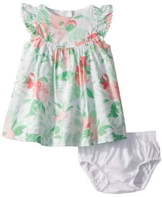 Janie and Jack Tropical Print Dress Girl's Dress