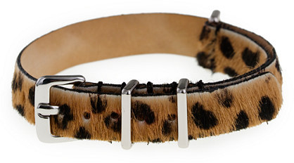 J.Crew Women's calf hair watch strap
