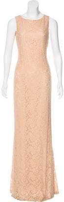 Alice + Olivia Sleeveless Maxi Lace Dress w/ Tags