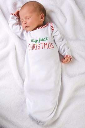 Mud Pie MUDPIE Newborn Christmas Gown