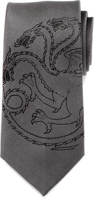 Cufflinks Inc. Game of Thrones Targaryen Large-Sigil Silk Tie