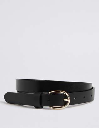 Marks and Spencer Leather Jeans Hip Belt