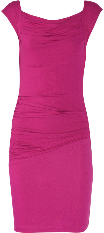 Ce Me London Astra knitted stretch-jersey dress