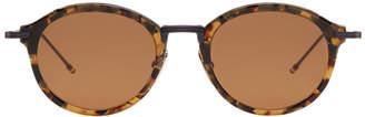 Thom Browne Toroiseshell TB-908 Sunglasses