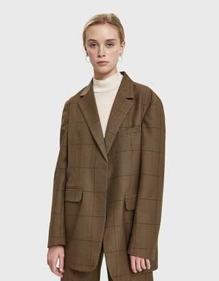 Yune Ho Jeanette Check Jacket