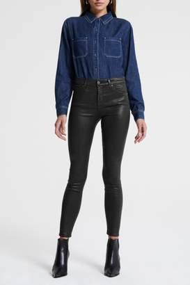 AG Adriano Goldschmied Farrah Skinny Leatherette