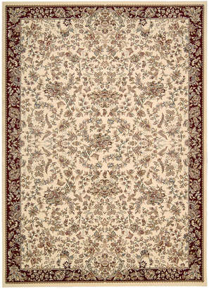 "Kathy Ireland Home Antiquities Timeless Elegance Ivory 3'9"" x 5'9"" Area Rug"