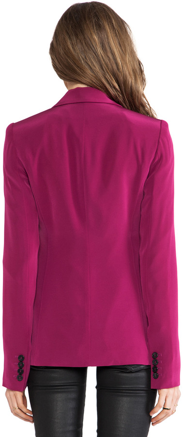 Elizabeth and James Rex Blazer with Colored Lining