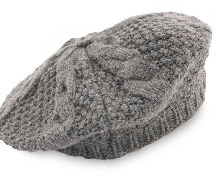 Preston & york cable-knit beret