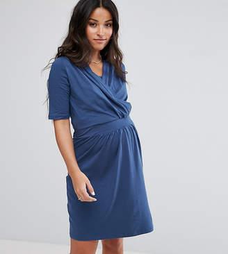 Mama Licious Mama.Licious Mamalicious Nursing Gathered Dress