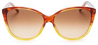 Marc Jacobs Color Block Cat Eye Sunglasses, 58mm