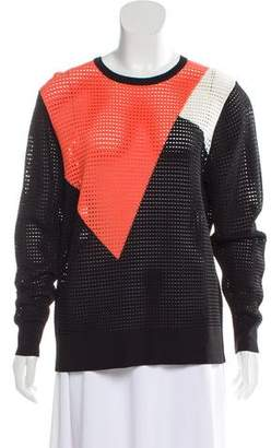 Torn By Ronny Kobo Colorblock Knit Sweater
