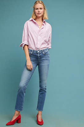 Paige Hoxton High-Rise Straight Jeans