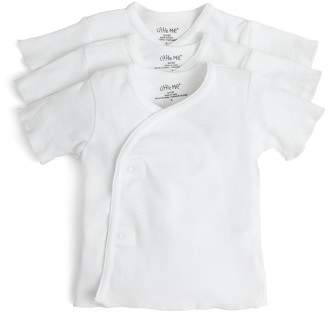 Little Me Unisex Side-Snap Shirt, 3 Pack - Baby