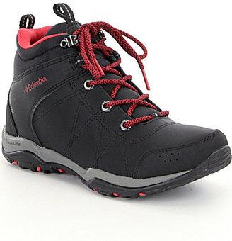 Columbia Fire Venture Mid Waterproof Hiking Booties $110 thestylecure.com