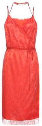 Nina Ricci Lace and satin dress