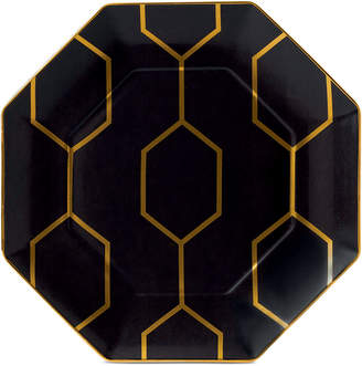 Wedgwood Arris Octagonal Accent Plate Charcoal