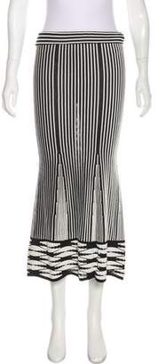 Thakoon Patterned Midi Skirt