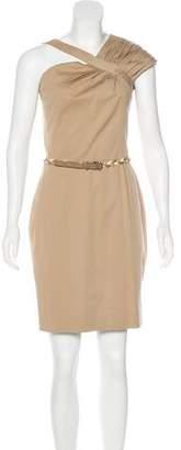 Christian Dior Asymmetrical Mini Dress