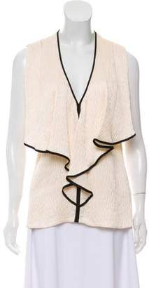 Jason Wu Ruffle-Accented Sleeveless Top