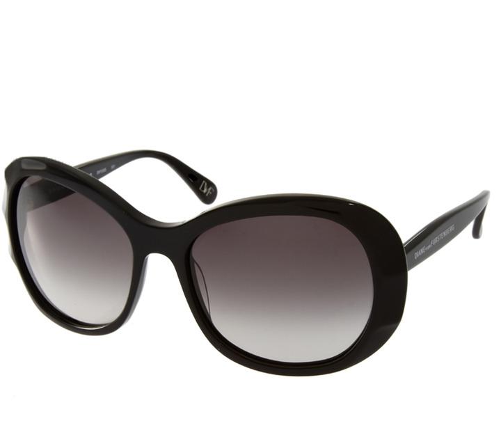 Diane von Furstenberg Wide Frame Sunglasses