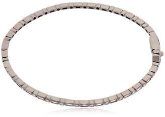 Colette Jewelry Entwined Diamond Black Gold Bracelet