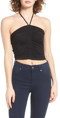 Women's Bp. Ruched Halter Top $22 thestylecure.com