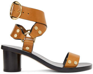 Isabel Marant Brown Jeyka Sandals