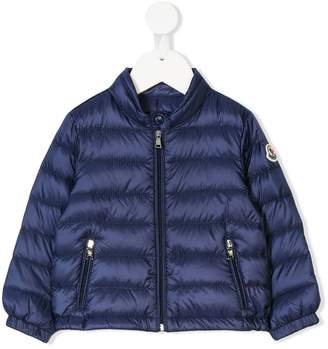 Moncler arm patch padded jacket