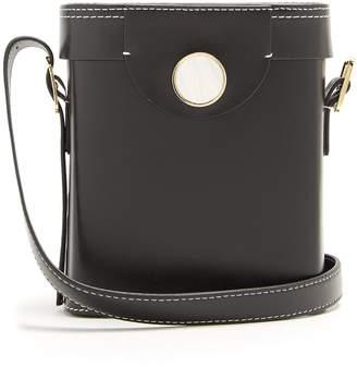 HILLIER BARTLEY Binocular cross-body leather bag