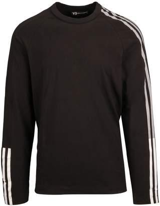 Y-3 3 Stripe Long Sleeve T-shirt