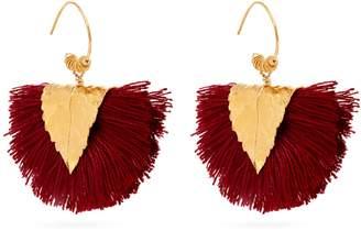 ELISE TSIKIS Agia tassel-embellished earrings
