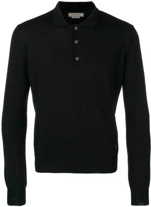 Corneliani knitted polo shirt