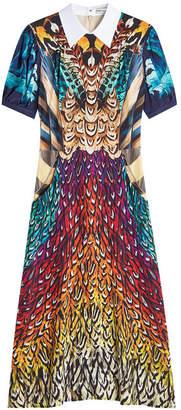 Mary Katrantzou Osprey Printed Silk Dress