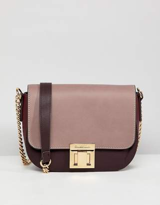 Carvela contrast cross body bag