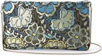 Steve Madden Blue Brocade Crossbody Bag