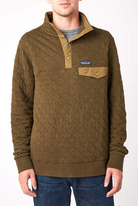 Patagonia Organic Cotton Quilted Snap T Fleece Pullover