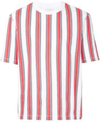 CK Calvin Klein regimental strip printed T-shirt