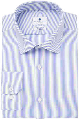 Ryan Seacrest Distinction Men's Ultimate Slim-Fit Non-Iron Performance Stripe Dress Shirt, Created for Macy's