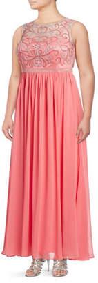 Decode 1.8 Beaded Chiffon Gown
